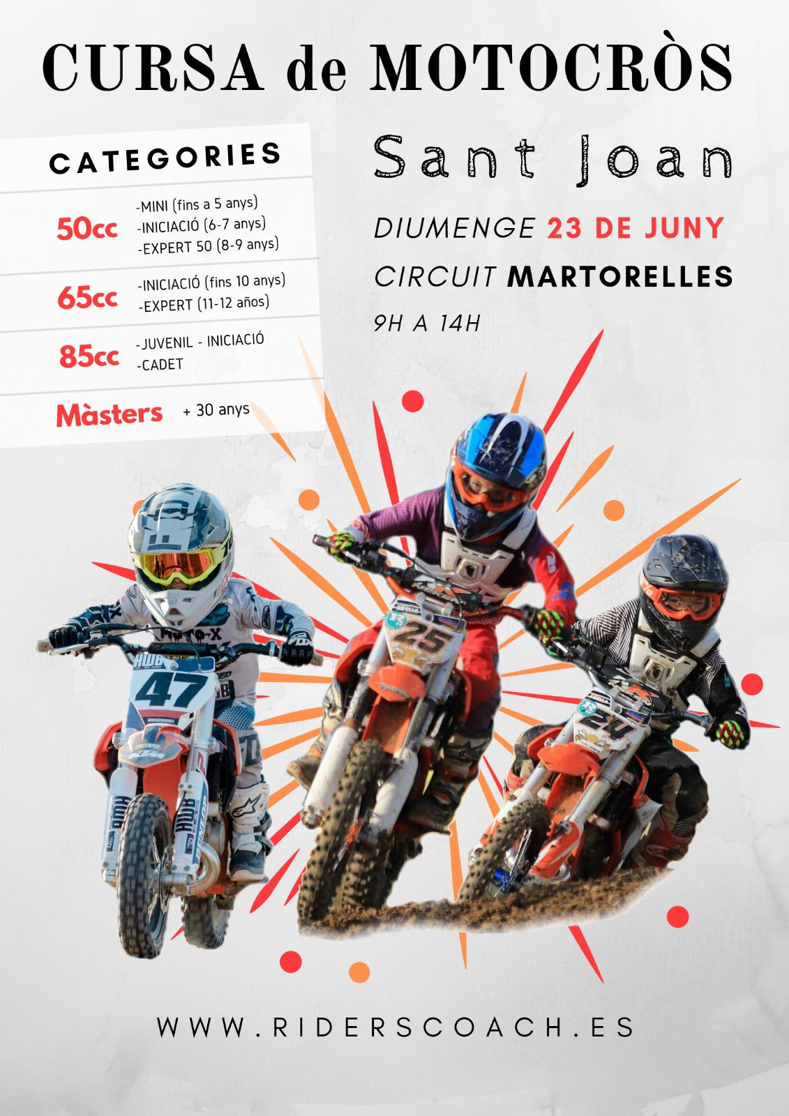 2019 06 póster carrera mx riders coach